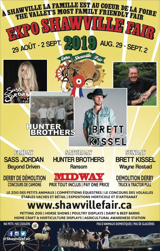 Shawville Fair (Friday) - Sass Jordan - Shawville Fair 2019